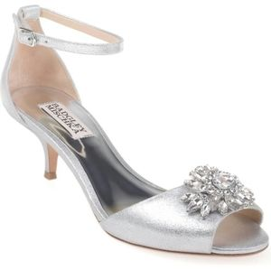 Badgley Mischka Sainte Kitten Heels
